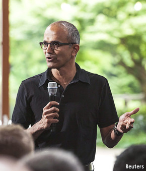 Microsoft's new boss: Inside