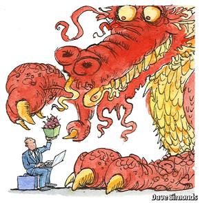 在中国的外国企业:小并不意味着美