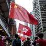 Pro-China demonstration in Hong Kong