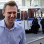 Alexei Navalny at court in Moscow