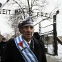 Auschwitz survivor Miroslaw Celka at the 70th anniversary ceremonies