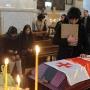 Funeral of Georgian volunteer killed in Ukraine