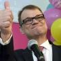 Finnish Centre Party leader Juha Sipila
