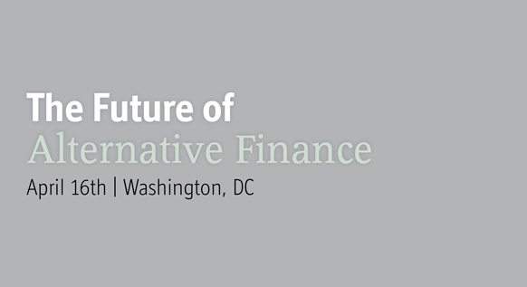 The Future of Alternative Finance