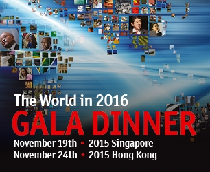 The World in 2016 Gala Dinner