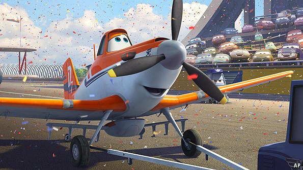动画,但是其衍生电影《飞机总动员》如此受欢迎