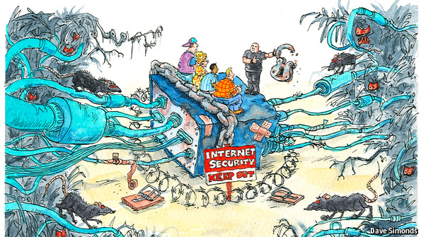 Internet security: Besieged | The Economist