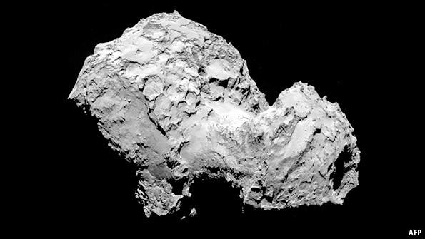Cometary science: Rosetta's stone