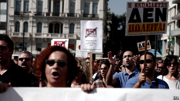 Greece reconsiders a tax on private education