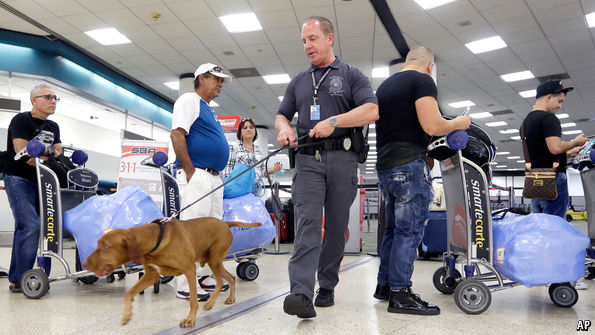 Horrendous queues were predicted at American airports this summer. They never materialised