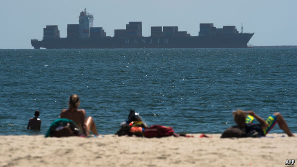 Why billions of dollars of goods are stuck at sea
