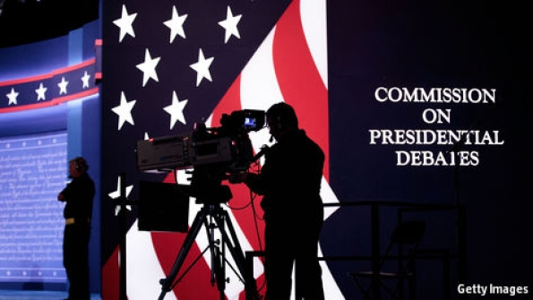 What disproportion do presidential debates make?