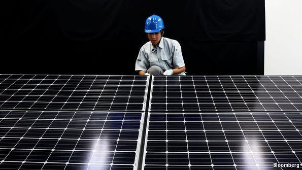 Economist article - how clean is solar power
