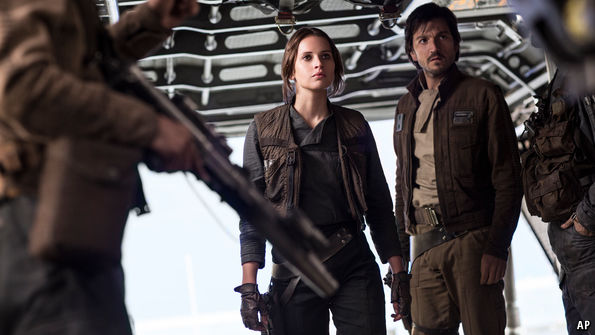 """Rogue One"" is faithful to the original trilogy—but lacking in force"