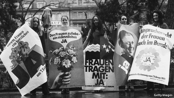 """Die göttliche Ordnung"" tells a story of belated female emancipation"