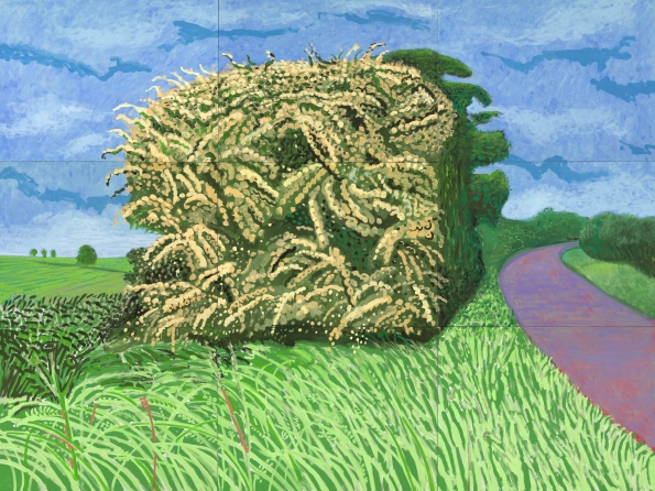 The Big Hawthorne, 2008, David Hockney