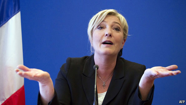 Marine Le Pen: Waiting in the shadows | The Economist