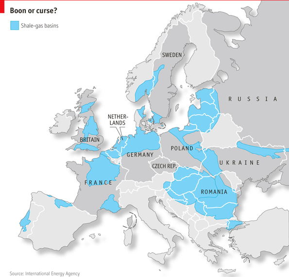 Two Natural Resources In Europe