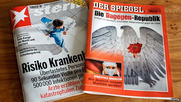 Der spiegel s woes a mirror cracked the economist for De4r spiegel