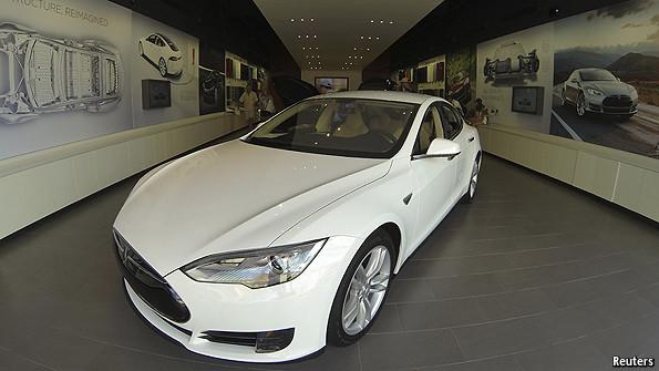 Tesla Motors The Fire This Time The Economist