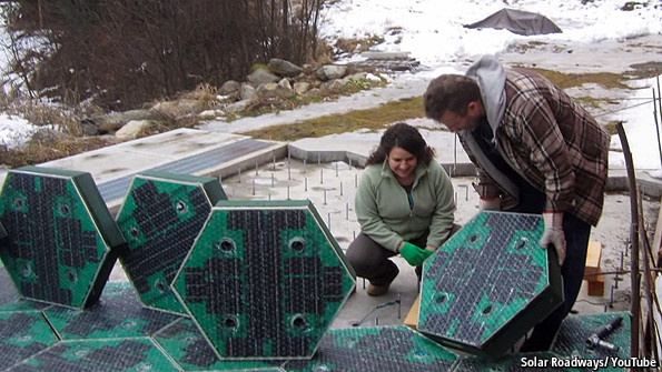 Crowdfunding Solar Roadways On The Not So Sunny Side Of