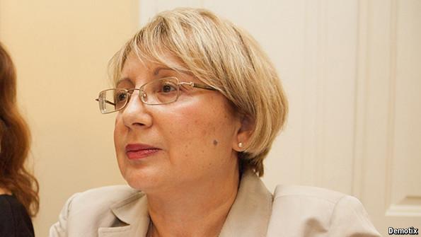 Azerbaijani activist Leyla Yunus