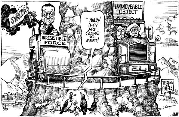 KAL's cartoon - Jan 31st 2015 | The Economist