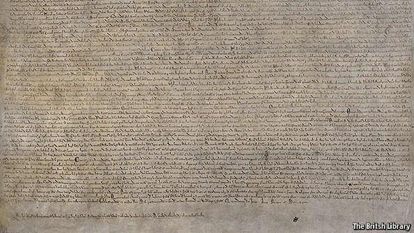 Magna Carta (c) The British Library