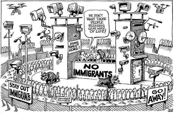 constant influx of immigrants does not hurt us economy While low-skill immigrants compete with low-skill americans for jobs, in the long-term they increase their skills, start businesses, and boost the american economy.