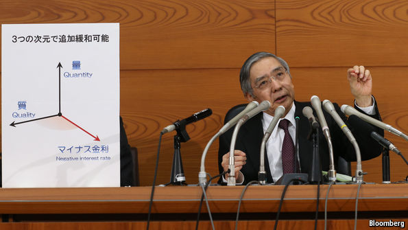 Negative interest rates arrive in Japan