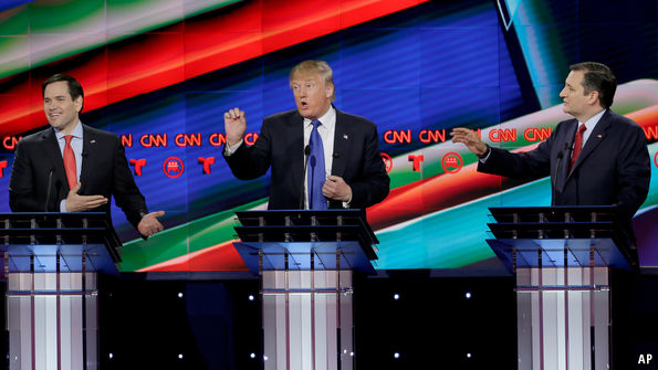 Betting on the Republican presidential nominee