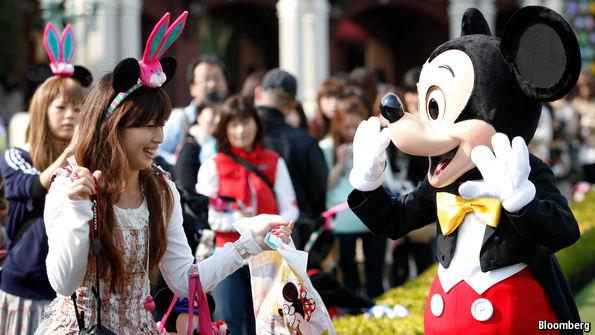 Disney discovers peak pricing