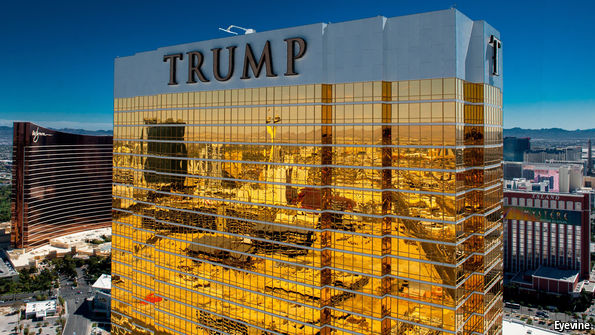 The mysterious power of Trump's garish buildings