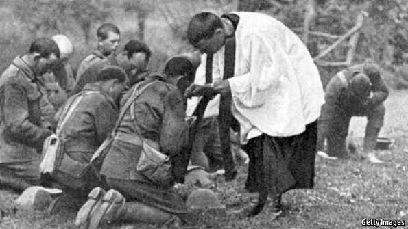 The Great War changed religion and society, but not enough