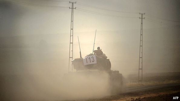 Turkish soldier killed in Syria by rocket attack