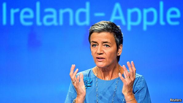 US Treasury Chief Denounces Europe's Tax Ruling Against Apple