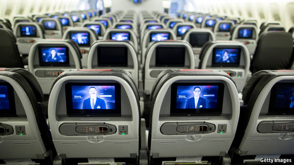 American carriers are investing in in-flight entertainment again