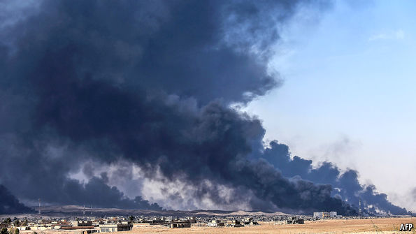 Thousands Of Civilians Flee Mosul Amid Military Operation