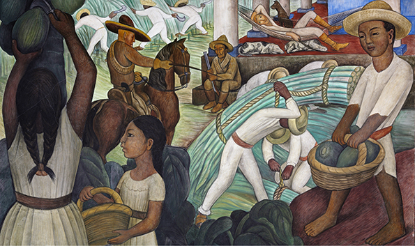 Evolutionary tales the economist for Mural mexicano