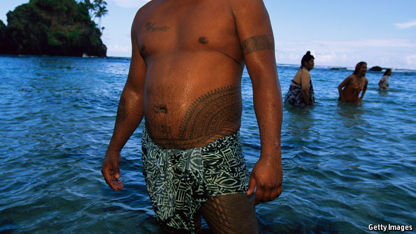 An American airline wins the right to weigh passengers on its Samoan route