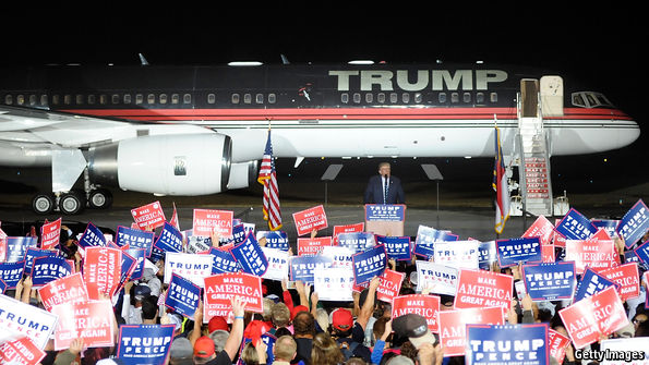 A Trump presidency probably spells bad news for America's travel industry