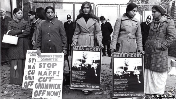 The strike that brought immigrant women into Britain's working class