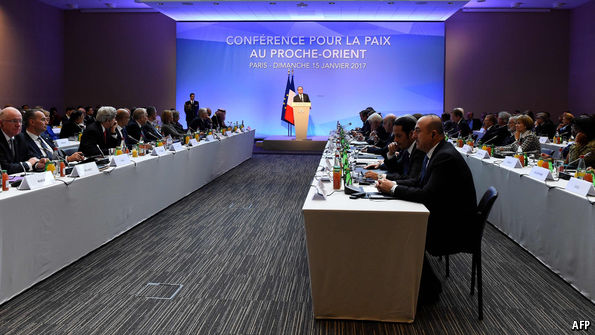 United Kingdom rebukes Paris Middle East peace conference, refuses to sign declaration
