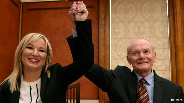 Sinn Fein chooses new leader O'Neill for Northern Ireland
