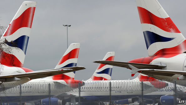 "British Airways crew walk out over ""poverty"" pay"