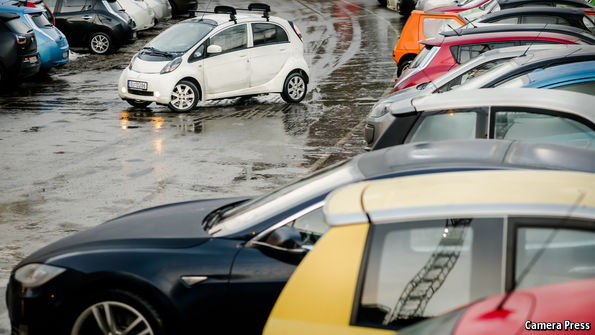 Sales of green vehicles are booming in Norway