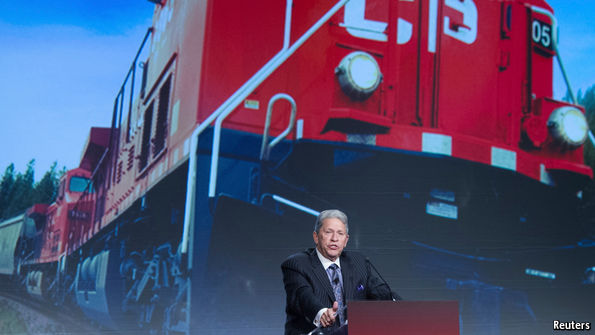 Can a railway legend deliver at America's CSX?