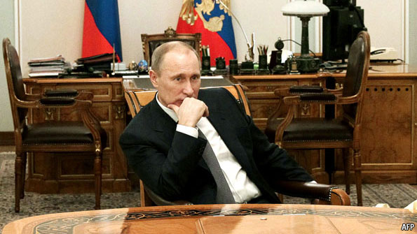 How Vladimir Putin cleaned up corruption in Russia