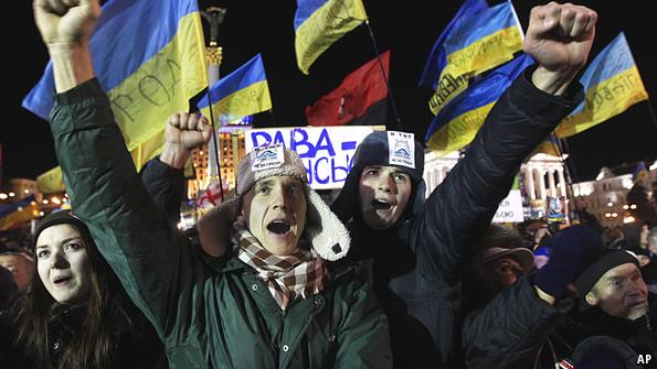 Новая революция на Майдане