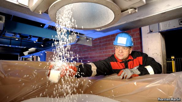 European chemicals: Fixing a flat